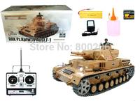 1:16 Tiger Type Belches Smoke Tank