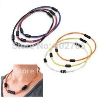Colantotte Titanium Necklace,Health necklace free shipping 50pcs/lot