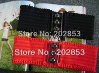 Free shipping Wholesale  fashion ladies'  elastic belts