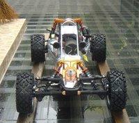 29cc metal head baja + DDM pipe + metal roll cage + metal Rear shock brace