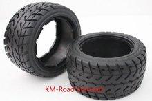traseira com pneus de estrada caber 1/5 5B.2PCS baja(China (Mainland))