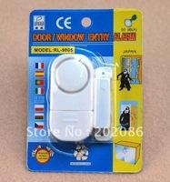 Wholesale WINDOW&DOOR ENTRY ALARM security door alarm 100pcs/lot Fast delivery Free shipping