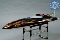 RC Boat, R/C boat, Racing boat, High speed, 47' VEE 26cc gas boat(without engine, with radio)