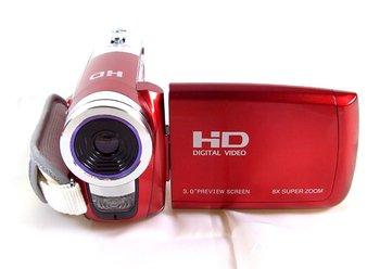 "big discount! 3.0"" tft rotation hd digital video camcorder cam dv dvr camera hd-a70 home use cmos drop shipping"