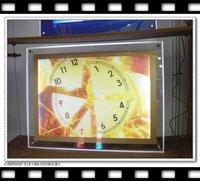 free shipping,A4 Crystal advertising LED lamphouse,Crystal led light box