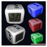 New Colorful Changeable Digital Alarm Clock piggy