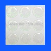 "free shipping: 1000 pcs Transparent Epoxy Dome Sticker (round, 1"", with glitter)"