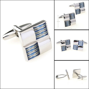 Men's cufflink Fashion Mens Jewelry Cuff link Stainless Steel Cufflink  Enamel cufflink ,5pairs/lot,PC156337
