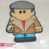 free shipping of souvenir gift for AF088 3d movie character eco-friendly soft pvc fridge magnet