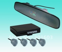 Super Slim Rearview Mirror VFD Display Parking System