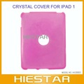 New Crystal transparent Hard Case Skin Cover For iPad 1 1