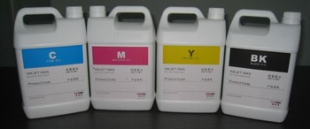 UV Curable Inkjet Inks CMYK US$49/Liter 5 Liter X 4 Colors