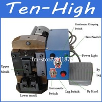 Fedex Freeshipping!Semiautomatic Rj45 Wire Crimping Machine, RJ45 RJ11 RJ12 Cable Crimper, 4p ~10p10c