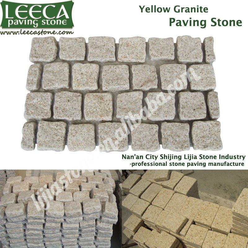 Tumbled stone,rectangle paving,cobble mats(China (Mainland))