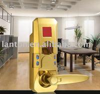 with keypad to open fingerprint door lock