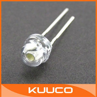 100PCS/LOT, 5mm LED Diode, WHITE Round LED Lamp, 5MM LED Lamp Diode #010037