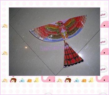 Free shipping by HK post, Intelligence assembling model ornithopter,Cordless kite,power kite,Children's toys,Hot selling!!!