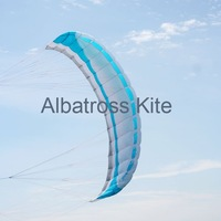 Albatross--5.0m2 power traction kite with lines and straps/easy handling stability / free shipping