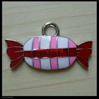 100 pcs/lot Free shipping enamel jewelry pendant wholesale