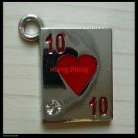 70 pcs/lot Free shipping enamel charm