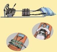 2pcs/lot free shipping New lumbar traction device traction bed, corrective stretching device.Self-distraction