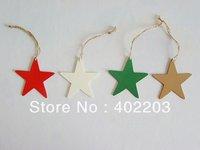 christmas ornament-christmas decorations-star hanger-12pcs/set-2sets/lot&free shipping