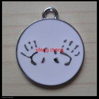 70 pcs/lot Free shipping enamel pendant