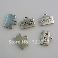 250 pcs/lot alloy Wish alloy pendants Free shipping