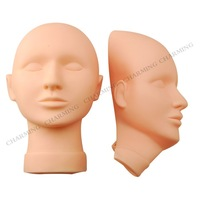 Make up practice  Model Head  practice mannequin head free shipping 1pc head+1 pc mask