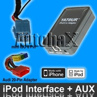 For iPod Adapter for Audi radio Chorus 1 2 Concert 1 2 Symphony 1 2