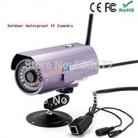 wireless outdoor IP camera, IR night vision camera, IR-CUT network camera, Email notification, SD-106, free shipping