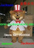 Cute Bear mascot costume Christmas costume Halloween costume C