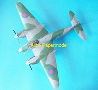 [Alice papermodel] Wingspan 70CM 1:24 World War II British fighter Mosquito bomber Mosquito aircraft airplane models