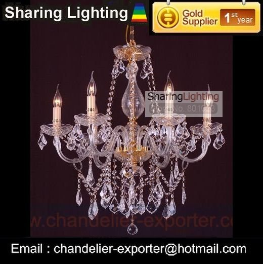 Wholesale factory sell Golden bohemian crystal chandeliers (free shipping)