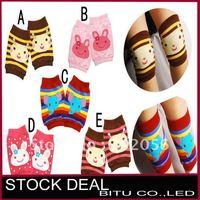 10pair/lot new korea design baby short leg warmers BB027p
