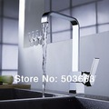 nice Vessel faucet chrome finish kitchen sink Mixer tap kitchen swivel faucet Vanity faucet L-1602