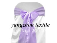 lilac satin  sash/chair cover sash/satin chair bow/satin chair sash