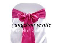 hot pink  satin  sash/chair cover sash/satin chair bow/satin chair sash