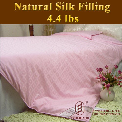 Guaranteed 100% Genuine New Super 100% Tussah Silk Comforter Filling 2kg,silk quilt, bedding(China (Mainland))