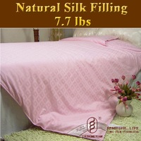 Guaranteed 100% Genuine New Super 100% Tussah Silk Comforter Filling 3.5kg,silk quilt, bedding