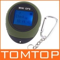 Outdoor Protable Mini GPS Tracker  with Handheld Keychain H4012 Freeshipping Dropshipping Wholesale