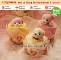 Free Shipping/100% Quality Guarantee Accept Credit Card Mix Colors 5pcs Best Gift 100% Cotton Animal Towel Cake