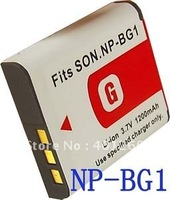 camera Battery  For SONY DSC-W120, DSC-W130, DSC-W150, DSC-W170 NP-BG1 NP-FG1 NPBG1 NPFG1 BC-CSGE