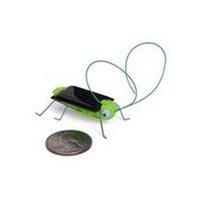 Free shipping 100pcs/Lot Solar Energy Powered Crazy Cricket Grasshopper Toy