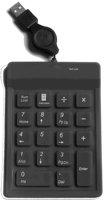 Free Shipping USB Numeric Keypad with Hub