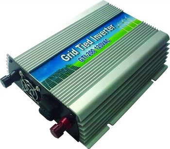 200W grid tie inverter,MPPT function,for solar system,wind system