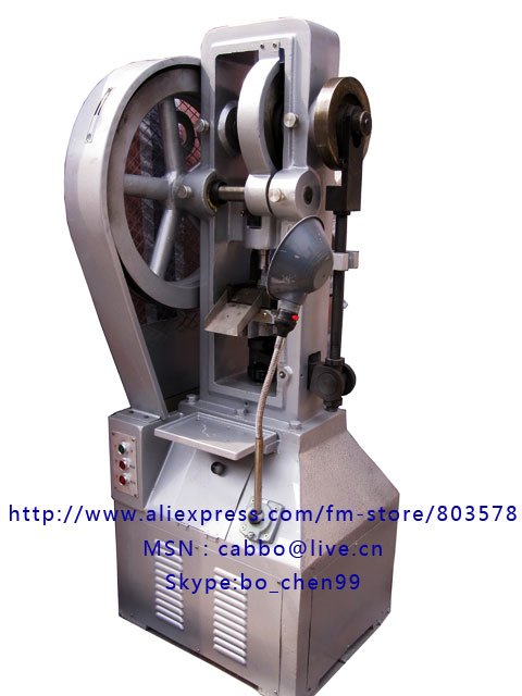 Single punch Tablet Press Machine THP/ Flower Basket Tablet press machine/big pills pressing/big tablet press machine