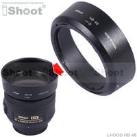Best seller!! HB-46 Lens Hood Shade case for Nikon AF-S 35/1.8G DX Lens HB46