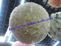 60cm foam flower ball wedding kissing ball