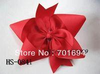 Wholesale - -girls hair bow hairbows hairband headband -soft crochet headband with hair bow 120pcs/lot